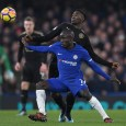 Chelsea defensive midfielder N'Golo Kante has been played out of position by Maurizio Sarri