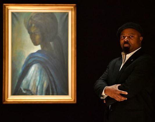 Ben Enwonmu's painting of Tutu has been compared to that Leonardo da Vinci portraits of Mona Lisa