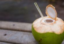 Moderate in-take of coconut Water reduces high blood pressure