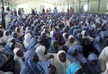FILE PHOTO: Students of Government Girls Science Technical College, Dapchi