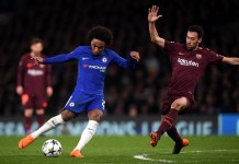 Willian turned down two opportunities to join Barcelona