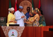 President Muhammadu Buhari has been bestowed an award for his steadfastness