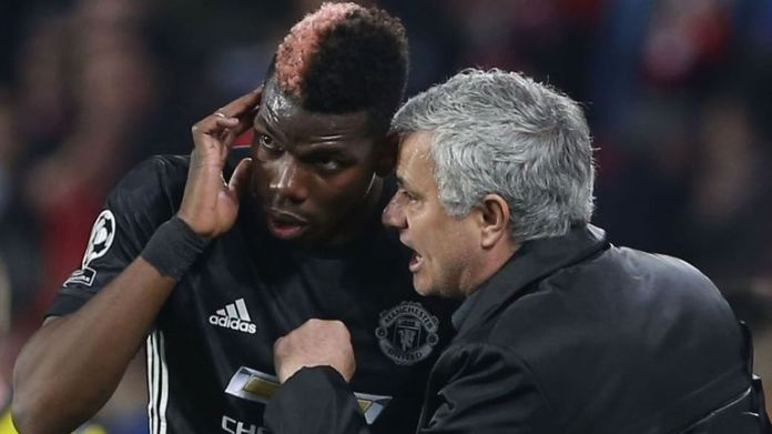 Paul Pogba says he had no problems with manager Jose Mourinho