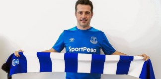 Marco Silva have signed a three year deal at Everton
