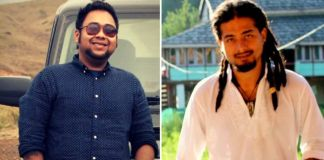 Nilotpal Das (R) and Abijeet Nath (L) stopped to ask for directions when a mob attacked them