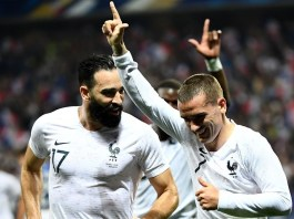 France sit atop the FIFA/Coca Cola rankings following their 2018 World Cup heroics