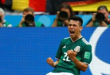 Hirving Lozano scored the only goal as impressive Mexico beat Germany 1-0