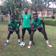 Onazi Ogenyi (m) says Super Eagles are preparing for England clash by dancing, singing.