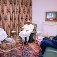 President Muhammadu Buhari, Senator Bukola Saraki and Honourable Yakubu Dogara met following the killings of over 100 in Plateau