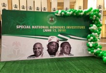 President Muhammadu Buhari today, apologized on behalf of the administration of former President Ibrahim Badamosi Babangida for annulling the June 12, 1993 presidential elections presumably won by the late MKO Abiola