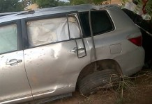 FILE PHOTO: Buba Galadima and his son Mohammed were involved in a motor accident