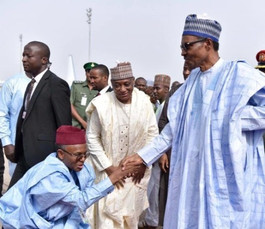 President Muhammadu Buhari has congratulated Governor Nasir El-Rufai of Kaduna on his 60th birthday