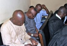 Yemi Akinwunmi, Atiba Dickson and Ogunmodede Oladayo has been charged with receiving bribe as INEC staff