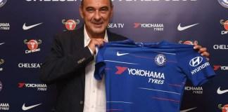 Maurizio Sarri has succeeded Antonio Conte at Chelsea