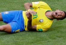 Brazil forward Neymar has admitted to diving and exaggerating during a Gillette TV ad
