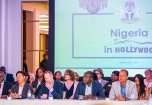 """""""Nigeria in Hollywood"""" as Prof Yemi Osinbajo meets with representatives from leading movie outfits"""
