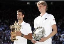 Novak Djokovic beat Kevin Anderson to win his fourth Wimbledon title