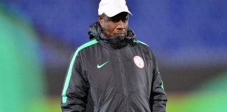 Nigerian national team coach Salisu Yusuf was filmed taking bribe in 2017