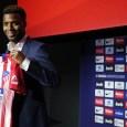Atletico Madrid unveil new signing Thomas Lemar