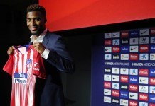Atletico Madrid unveil new signing Thomas Lemar