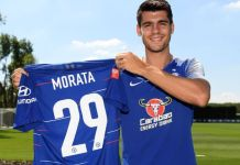 Alvaro Morata says he is wearing the number 29 shirt because of his twins born on 29 July