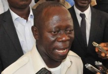 Comrade Adams Oshiomhole, national chairman of the APC