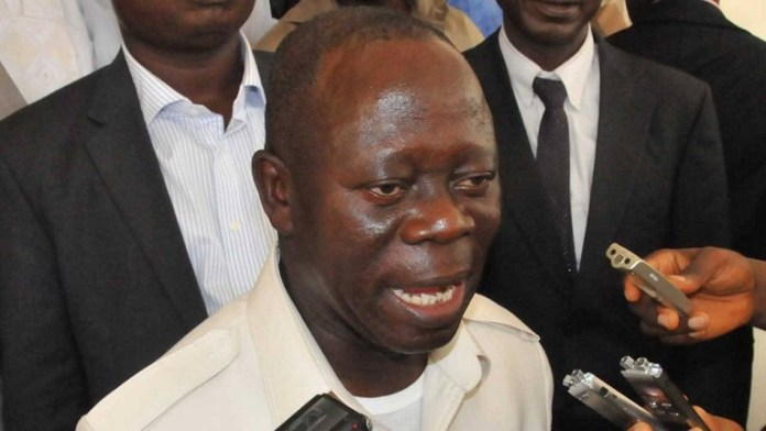 Embattled Comrade Adams Oshiomhole, national chairman of the APC