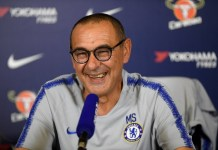 Maurizio Sarri says Eden Hazard will remain at Chelsea this season