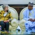 President Muhammadu Buhari and Prime Minister Theresa May in closed-door meeting