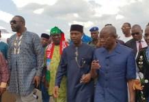 National chairman, Comrade Adams Oshiomhole has appointed Senator Godwsill Akpabio as APC leader in Akwa Ibom
