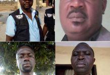 The quartet of Inspector Bernard Odibo, Inspector Haruna Ibrahim, Inspector Mamman Abubakar and Sergeant Emmanuel Istifanu were killed by kidnappers in the line of duty