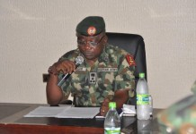 Acting Director Defence Headquarters, Brig Gen John Agim