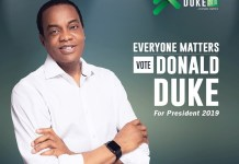 Appeal Court has reinstated Donald Duke has SDP presidential candidate