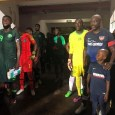 George Weah, 51, captained Liberia national team in an international friendly match against Nigeria