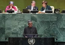 President Muhammadu Buhari spoke at a meeting tagged, High-Level Event on Financing for Development in the Era of COVID-19 and Beyond
