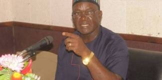 Governor Samuel Ortom of Benue State