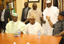 Atiku Abubakar and Chief Olusegun Obasanjo held a joint press conference in Abeokuta, Ogun state