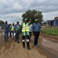 Engr. Nuruddeen A. Rafindadi leading other officials during the inspection of the general maintenance of Lokoja-Okene road