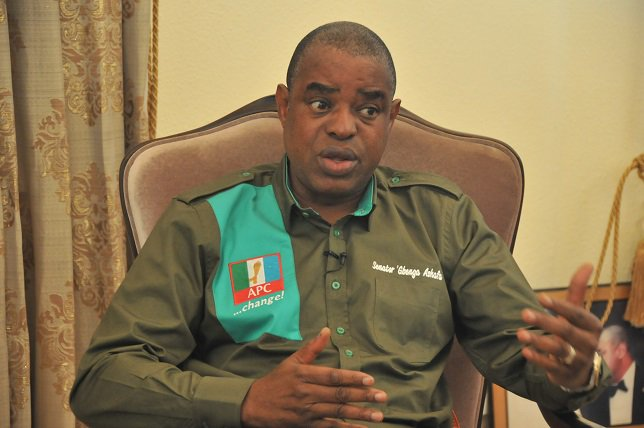 Gbenga Ashafa has lost his bid to return to the Senate for a third term to Bayo Osinowo