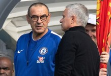 Maurizio Sarri has apologised to Jose Mourinho for Marco Ianni's celebration