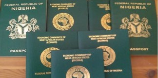 Nigerian passport has weakened over the years, the Henley report shows