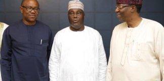 Peter Obi, Atiku Abubakar and Otunba Gbenga Daniel