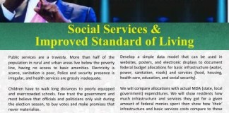 Atiku Abubakar has vowed to improve social service and standard of living in Nigeria
