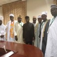 Vice President Yemi Osinbajo, SAN, meets with Muslim leaders under the Council of Chief Imams, Ikeja Division, Lagos, on Saturday, 10 November, 2018