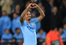 Gabriel Jesus scored twice as Manchester City beat Wolves 3-0