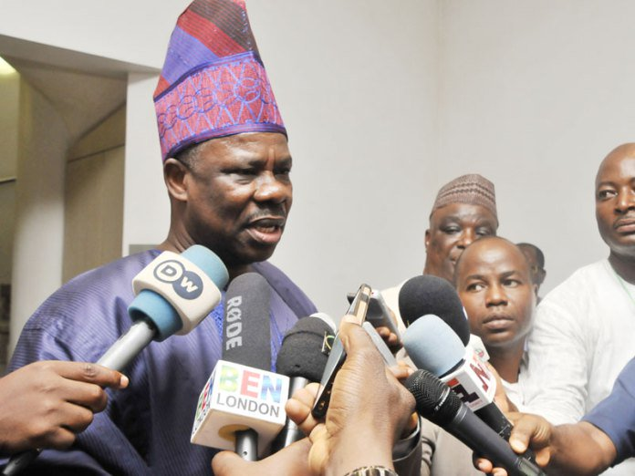 Governor Ibikunle Amosun of Ogun has been suspended by the APC