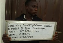 Suspect Ibrahim Usman sentenced to one year imprisonment for oil dealing