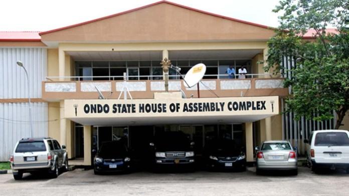Ondo State Assembly impeached Speaker Bamidele Oloyelogun and deputy Ogundeji Iroji on Friday