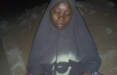 Shaidatu Adamu was on a suicide bombing mission from Goni Kalachari when she was arrested