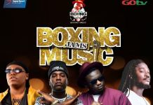 Burna Boy, Wande Coal, Teni Da Entertainer and Daddy Showkey will perform at GOtv Boxing Night 17